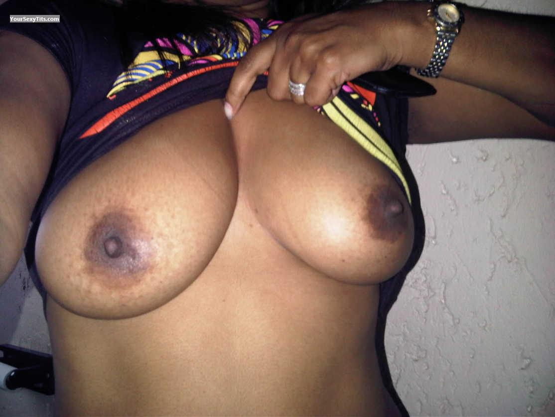 Tit Flash: My Big Tits (Selfie) - Mdl from South Africa
